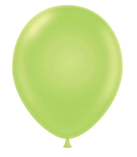 """24""""Lime Green Latex Balloons 5 Count"""