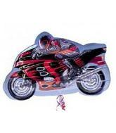 """27"""" Sport Motorcycle Mylar Balloon"""