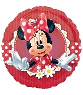 "18"" Mad About Minnie Balloon"