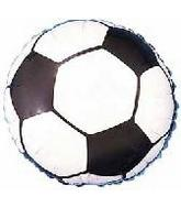"2"" Airfill Soccer Ball Balloon"