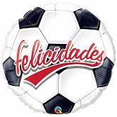 "31"" Felicidades Football Globo"