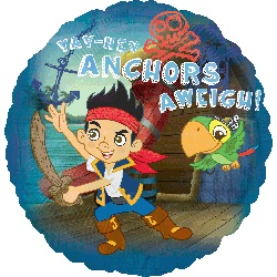"""18"""" Jake And The Never Land Pirates Balloon"""