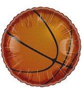 "4"" Airfill Basketball Balloon"