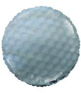 "4"" Airfill Golf Ball Balloon"