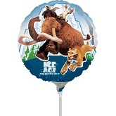 """9"""" Airfill Only Ice Age 4 Balloon"""