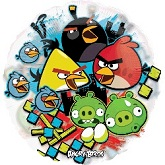 "26"" See-Thru Angry Birds Balloon"