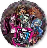"26"" Monster High See-Thru Balloon"