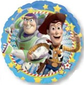"18"" Disney Toy Buzz & Woody Party Balloon"