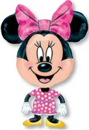 "30"" Minnie Mouse Big Head AirWalker"