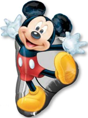 """31"""" Mickey Mouse Full Body SuperShape"""
