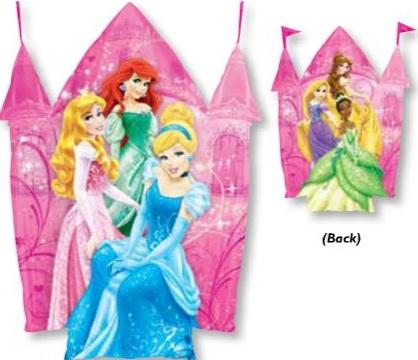"35"" Disney Princesses Jumbo Castle Balloon"