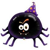 """27"""" Friendly Spider Mylar Balloon"""