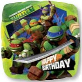 Teenage Mutant Ninja Turtles Mylar Balloons