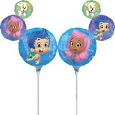 """14""""  Airfill Only Bubble Guppies Balloon"""