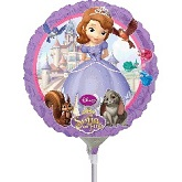 "9"" Airfill Only Sofia The First Balloon"