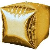 "16"" Gold Cubez"