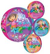 """16"""" Dora the Explorer Orbz Balloons"""