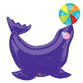 "33"" Circus Seal SuperShape Balloon"