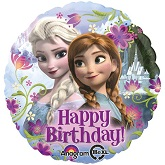 "18"" Disney Frozen Birthday Mylar Balloon"