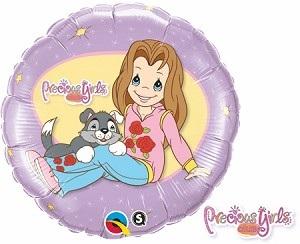 """18"""" Precious Girls Club Balloon"""