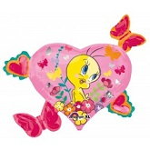 "30"" Tweety Hearts and Butterflies Jumbo"