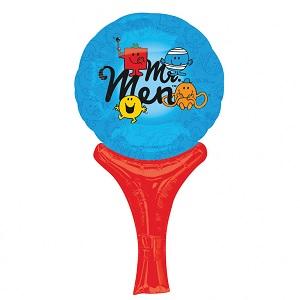 "12"" Inflate-a-Fun Balloon Mr Men Balloon Packaged"