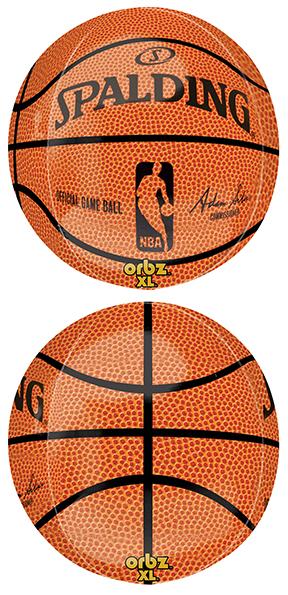 """16"""" NBA Spalding Basketball Orbz"""