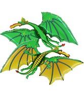 """36"""" Green Dragon Balloon"""