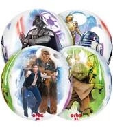 "16"" Star Wars Characters Orbz Balloon"