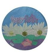 """18"""" Happy Easter Daisy Balloon"""