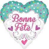"""18"""" Bonne Fete Maman Balloon"""