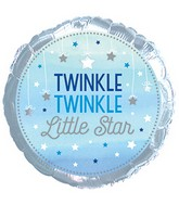 "18"" Twinkle Twinkle Little Star Blue Boy Packaged"