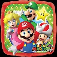 """9"""" Mini Balloon (Airfill Only) Super Mario Bros"""