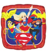 "18"" DC Super Hero Girls Foil Balloon"
