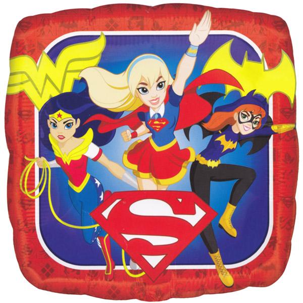 "18"" DC Super Hero Girls Foil Balloon"