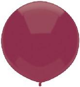 """17"""" Outdoor Display Balloons (72 Count) Deep Burgundy"""