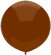 "17"" Outdoor Display Balloons (72 Count) Chestnut Brown"