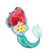 "34"" Supershape Balloon Ariel Dream Big"