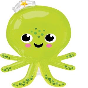 """34"""" Jumbo Silly Octopus Balloon"""