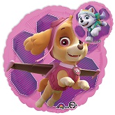 "18"" Paw Patrol Skye & Everest Foil Balloon"