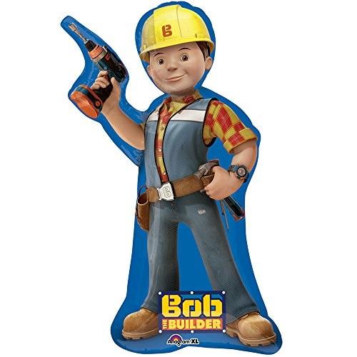 "35"" Jumbo Bob the Builder Foil Balloon"