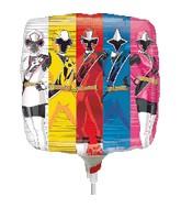 """9"""" Airfill Only Power Rangers-Ninja Steel Balloon"""