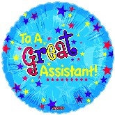 """18"""" To A Great Assistant Blazing Stars"""