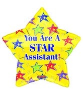 """18"""" You're a Star Assistant Yellow"""