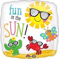 """18"""" Fun in the Sun Characters Balloon"""