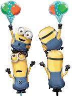 """61"""" Multi-Balloon Minions Stacker Balloon"""