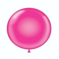 "36"" Tuf Tex Latex Balloon 2 Count Hot Pink"