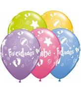 """11"""" Felicidades Por Tu Bebe Special Assortment (50 Count)"""