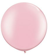 "30""  Qualatex Latex Balloons  Pearl PINK 02CT"
