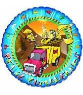 """18"""" Feliz Cumpleanos Trucks"""